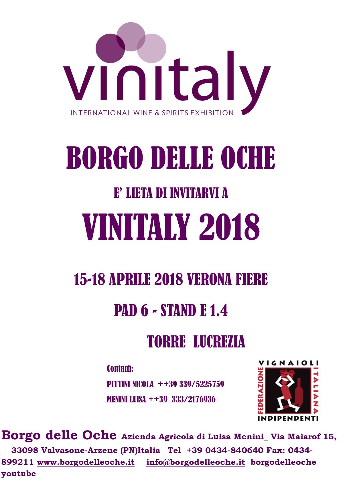 VINITALY 2018 ITA